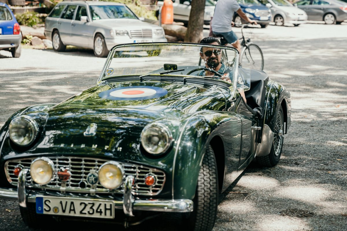 Bad Saarow Classics THE DRIVE 1 Landpartie Triumph Roadster