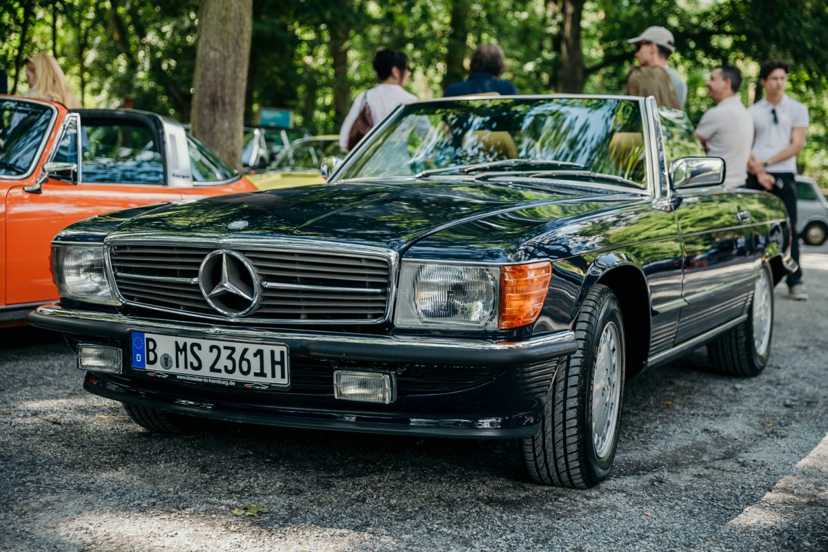 Bad Saarow Classics THE DRIVE 1 Landpartie Mercedes SL R 107